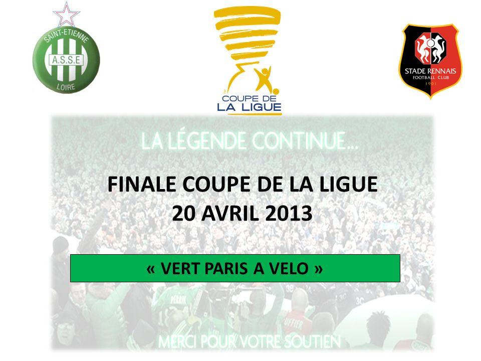 FINALE COUPE DE LA LIGUE 20 AVRIL 2013 « VERT PARIS A VELO »