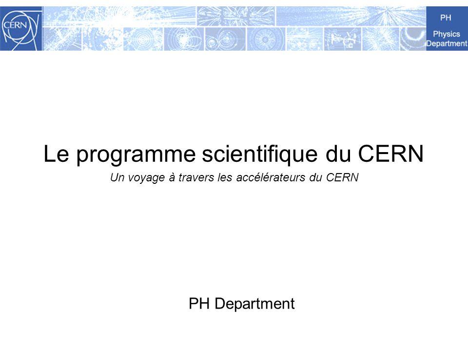 France et CERN / Mai 2009 2 Les missions du CERN Repousser les frontières des connaissances Les secrets du Big Bang …à quoi ressemblait la matière dans les tout premiers instants de lexistence de lUnivers .