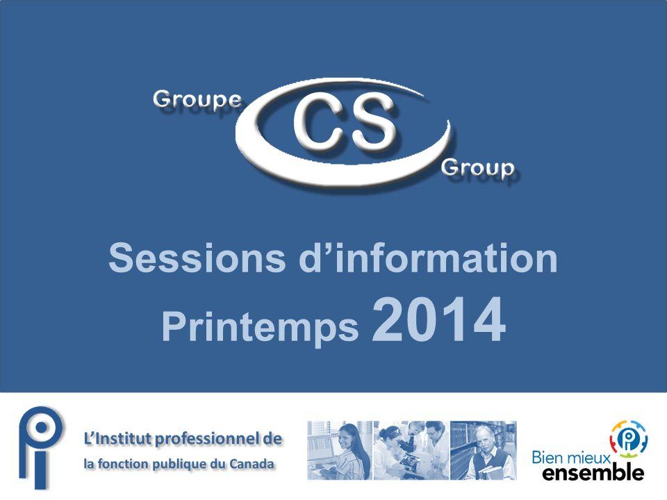 Sessions dinformation Printemps 2014