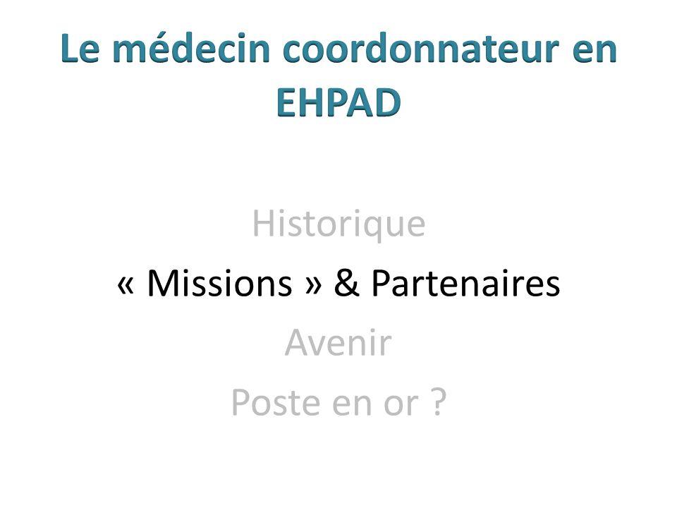 Historique « Missions » & Partenaires Avenir Poste en or ?