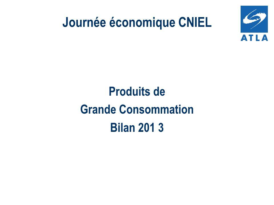 Produits de Grande Consommation Bilan 201 3 Journée économique CNIEL