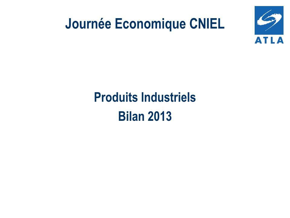 Produits Industriels Bilan 2013 Journée Economique CNIEL