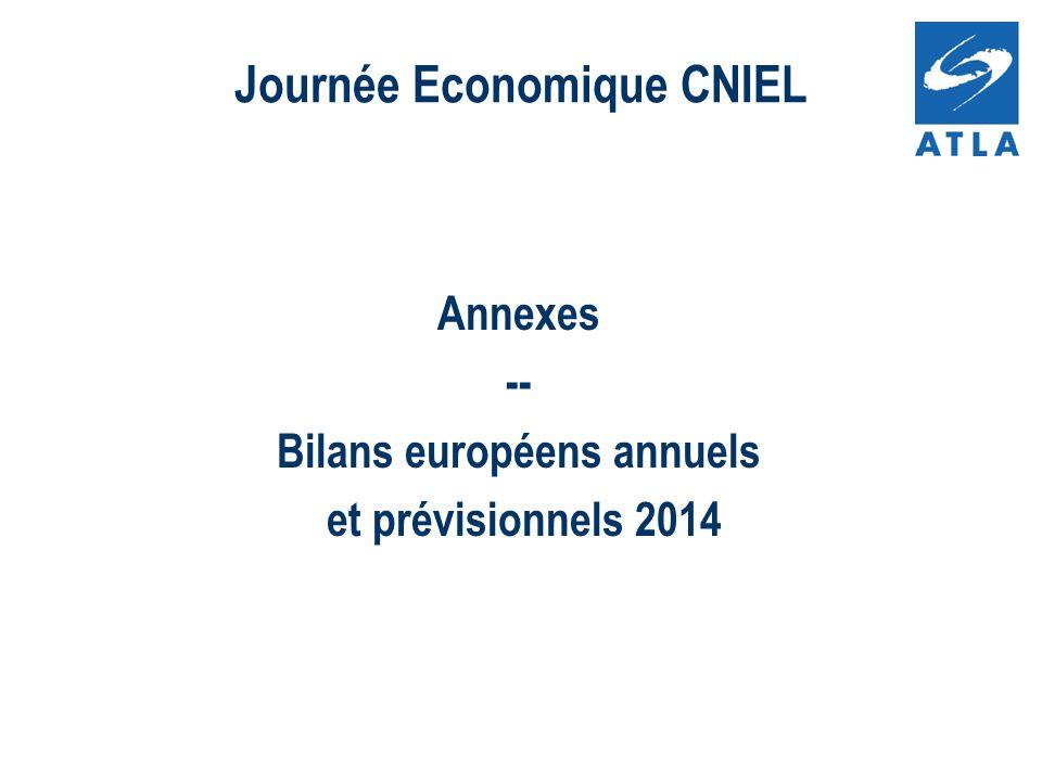 Annexes -- Bilans européens annuels et prévisionnels 2014 Journée Economique CNIEL