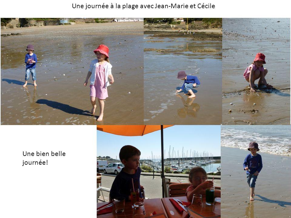 Une journée à la plage avec Jean-Marie et Cécile Une bien belle journée!