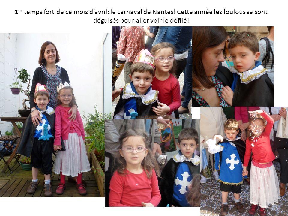 1 er temps fort de ce mois davril: le carnaval de Nantes.