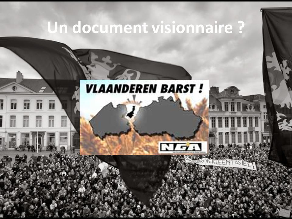 Un document visionnaire ?