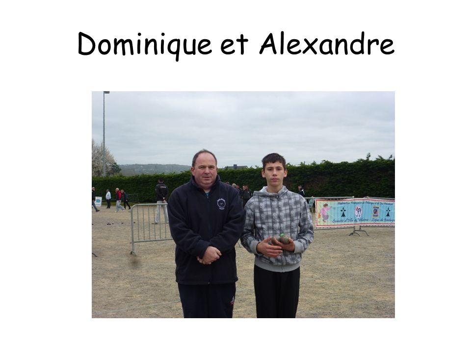 Dominique et Alexandre