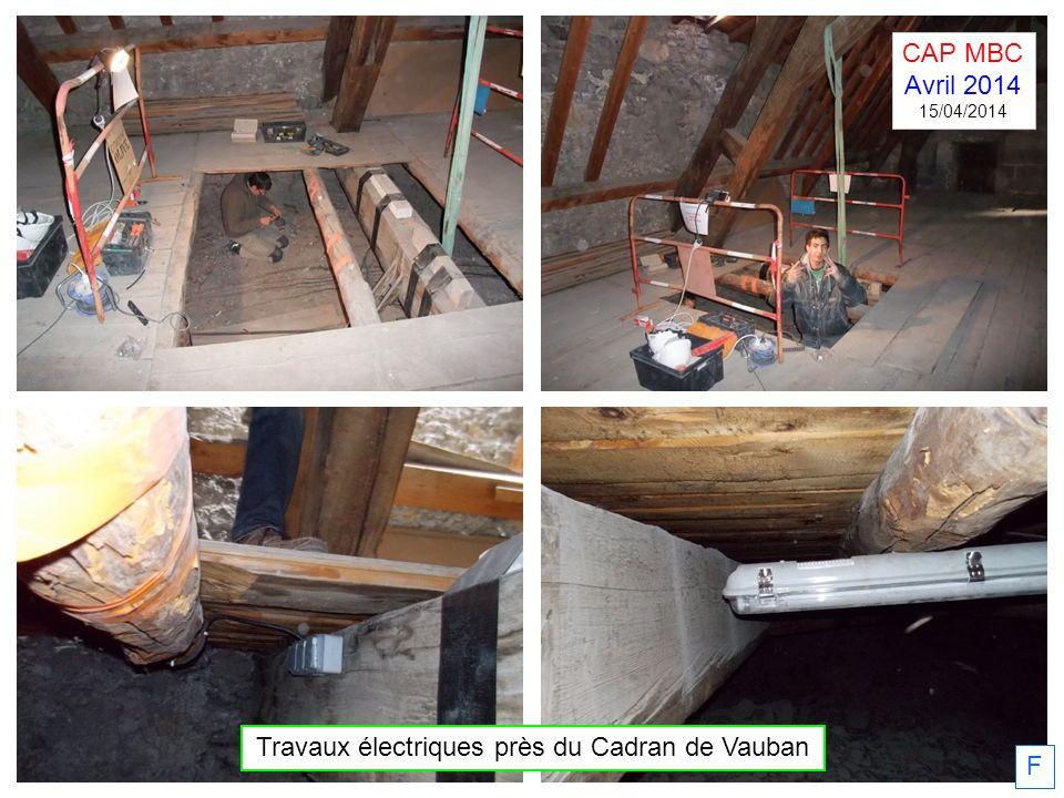 F Travaux électriques près du Cadran de Vauban CAP MBC Avril 2014 15/04/2014