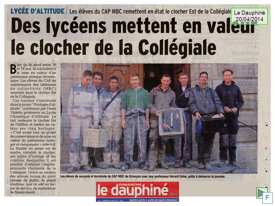 Le Dauphiné 20/04/2014 F