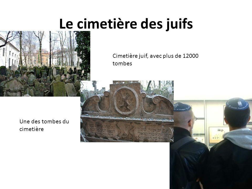 Le cimetière des juifs Cimetière juif, avec plus de 12000 tombes Une des tombes du cimetière
