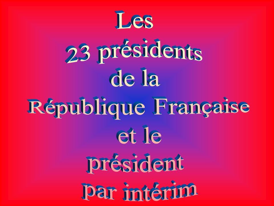 ÉMILE LOUBET 30 décembre 1838 - 20 décembre 1929 Élu le 18 février 1899 Présidence 18 février 1899 18 février 1906 Prédécesseur Félix Faure Successeur Armand Fallières