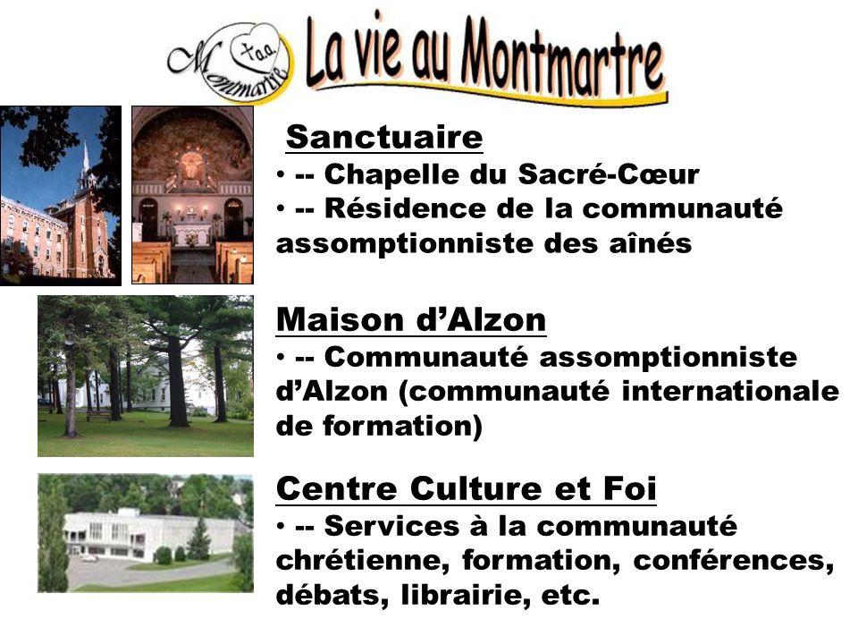 Sanctuaire -- Chapelle du Sacré-Cœur -- Résidence de la communauté assomptionniste des aînés Maison dAlzon -- Communauté assomptionniste dAlzon (commu