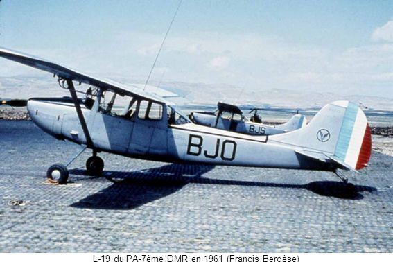 L-19 du PA-7ème DMR en 1961 (Francis Bergèse)