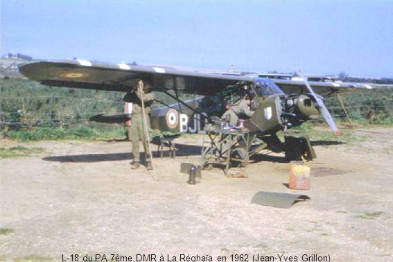 L-18 du PA 7ème DMR à La Réghaïa en 1962 (Jean-Yves Grillon)