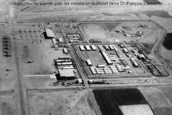 Orléansville - Au premier plan, les installation du PMAH 9ème DI (François dArnaudy)