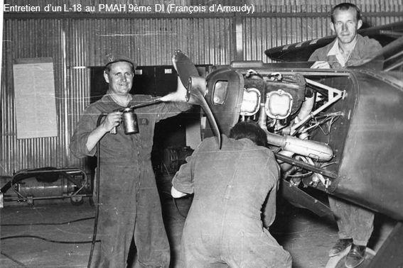 Entretien dun L-18 au PMAH 9ème DI (François dArnaudy)
