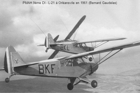 PMAH 9ème DI - L-21 à Orléansvile en 1961 (Bernard Gaudelas)