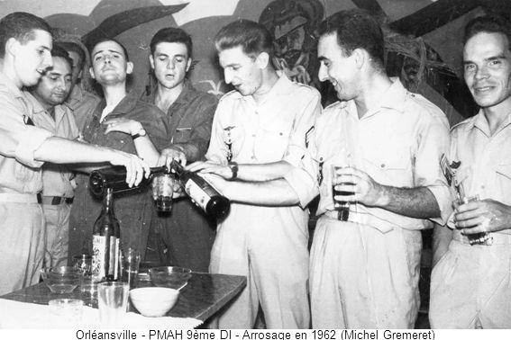 Orléansville - PMAH 9ème DI - Arrosage en 1962 (Michel Gremeret)