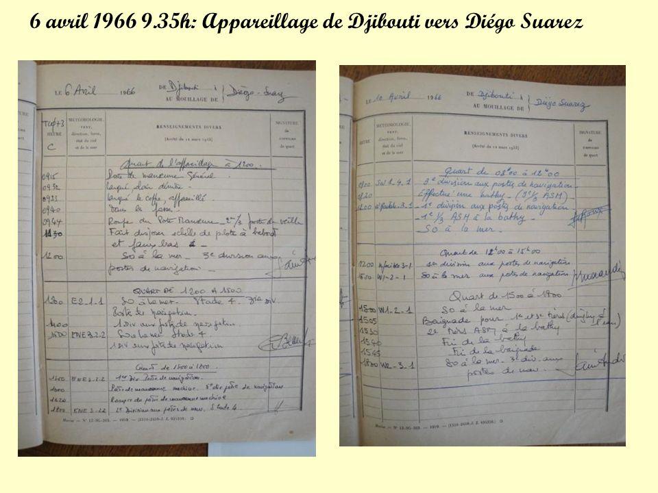 Diapositives réalisées par Maître Brejeon Pour la mission en océan Indien Mars 1966 – Août 1966 PPS N°2 (suite) Clic Manuel