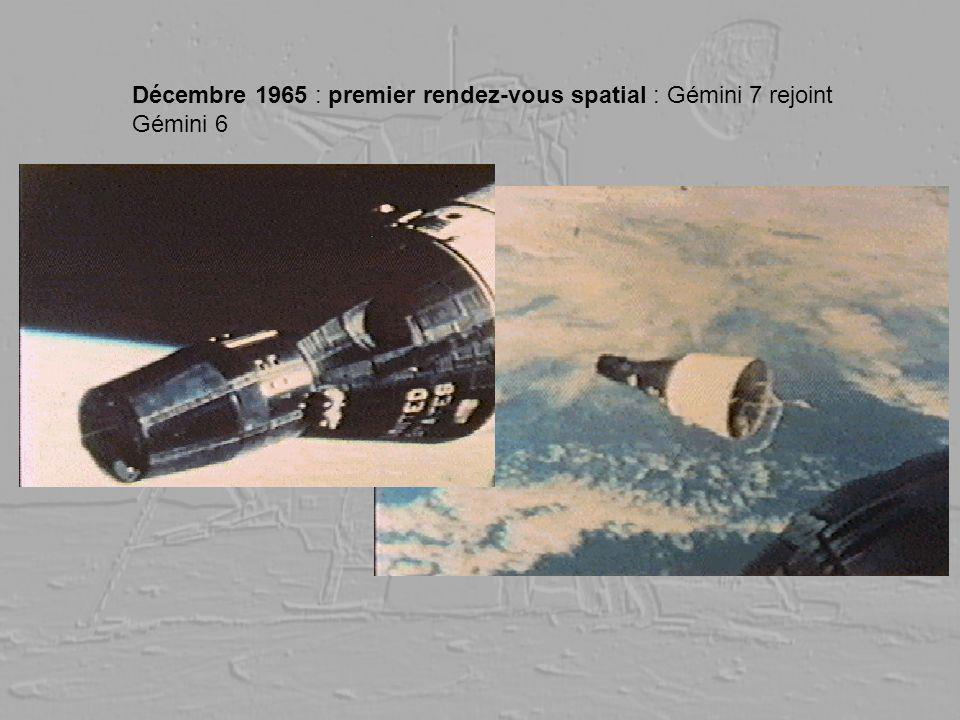 Décembre 1965 : premier rendez-vous spatial : Gémini 7 rejoint Gémini 6