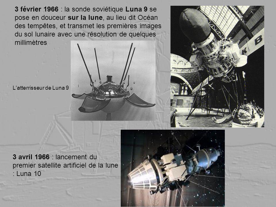 3 février 1966 : la sonde soviétique Luna 9 se pose en douceur sur la lune, au lieu dit Océan des tempêtes, et transmet les premières images du sol lu