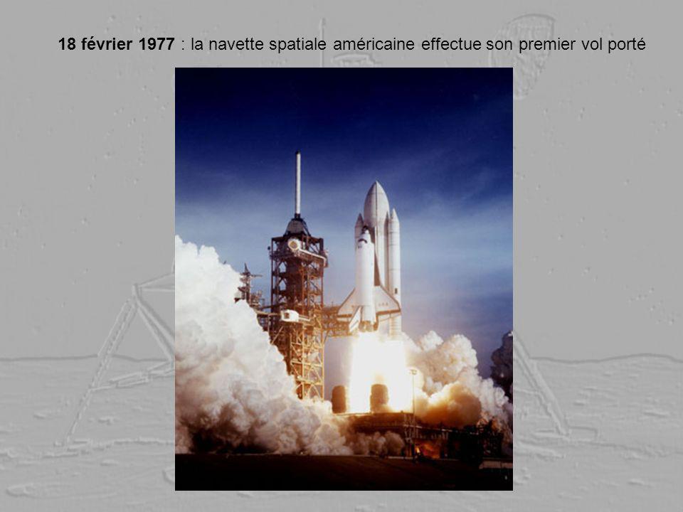 18 février 1977 : la navette spatiale américaine effectue son premier vol porté