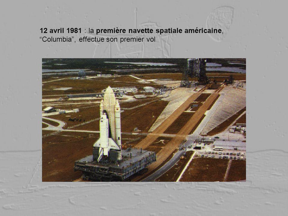12 avril 1981 : la première navette spatiale américaine, Columbia, effectue son premier vol