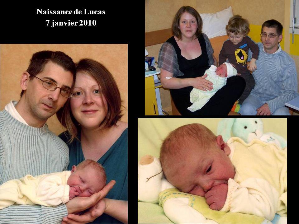 Naissance de Lucas 7 janvier 2010