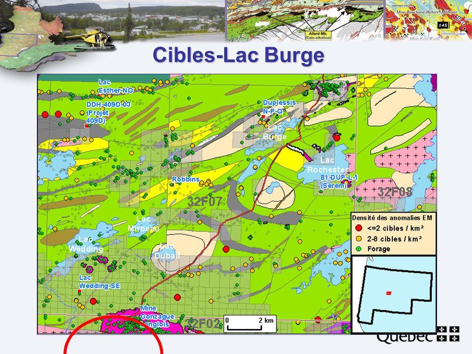 Cibles-Lac Burge