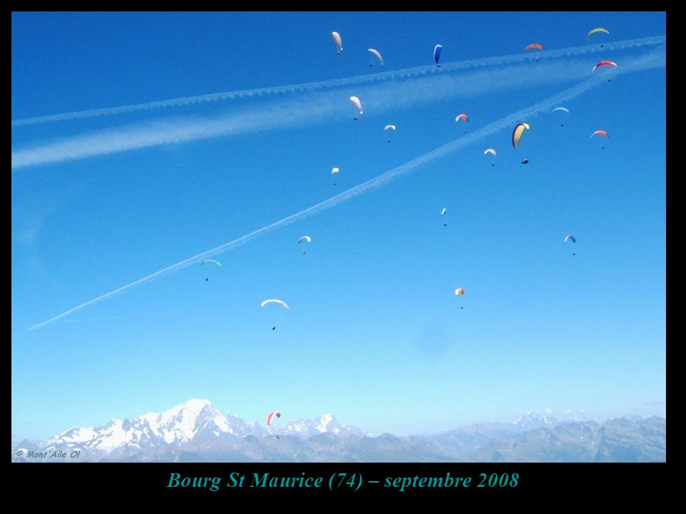 Bourg St Maurice (74) – septembre 2008