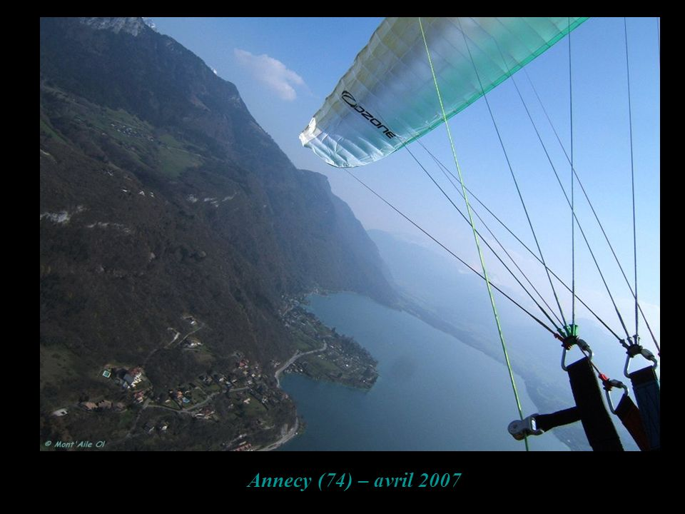 Annecy (74) – avril 2007