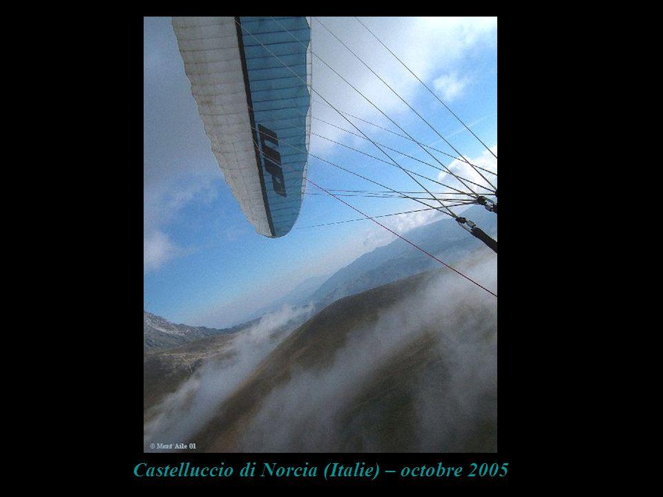 Castelluccio di Norcia (Italie) – octobre 2005