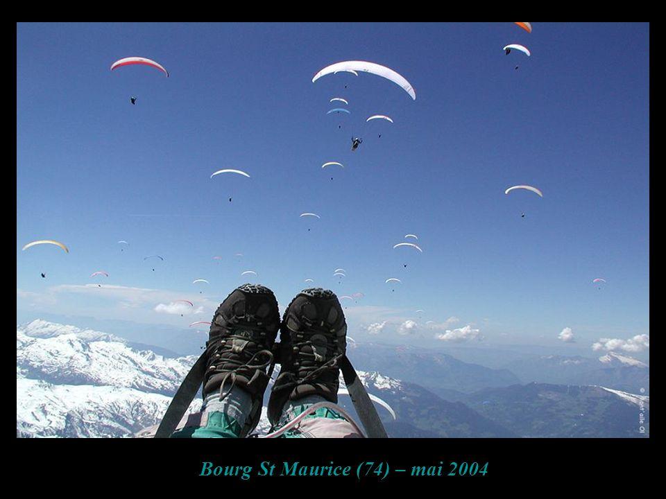 Bourg St Maurice (74) – mai 2004