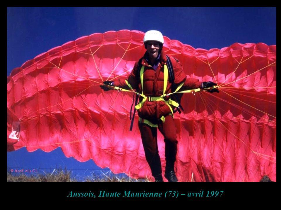 Aussois, Haute Maurienne (73) – avril 1997