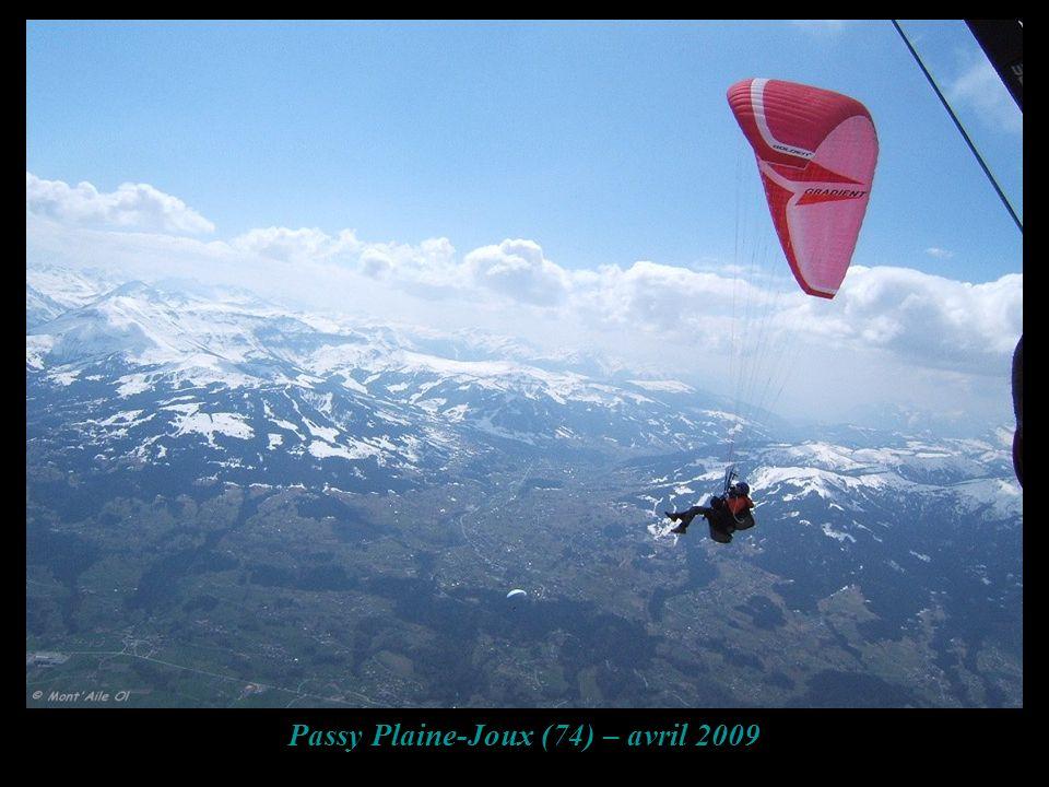 Passy Plaine-Joux (74) – avril 2009