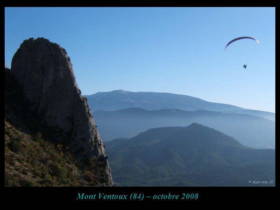 Mont Ventoux (84) – octobre 2008