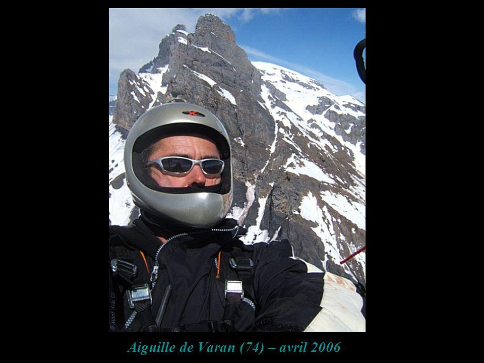 Aiguille de Varan (74) – avril 2006
