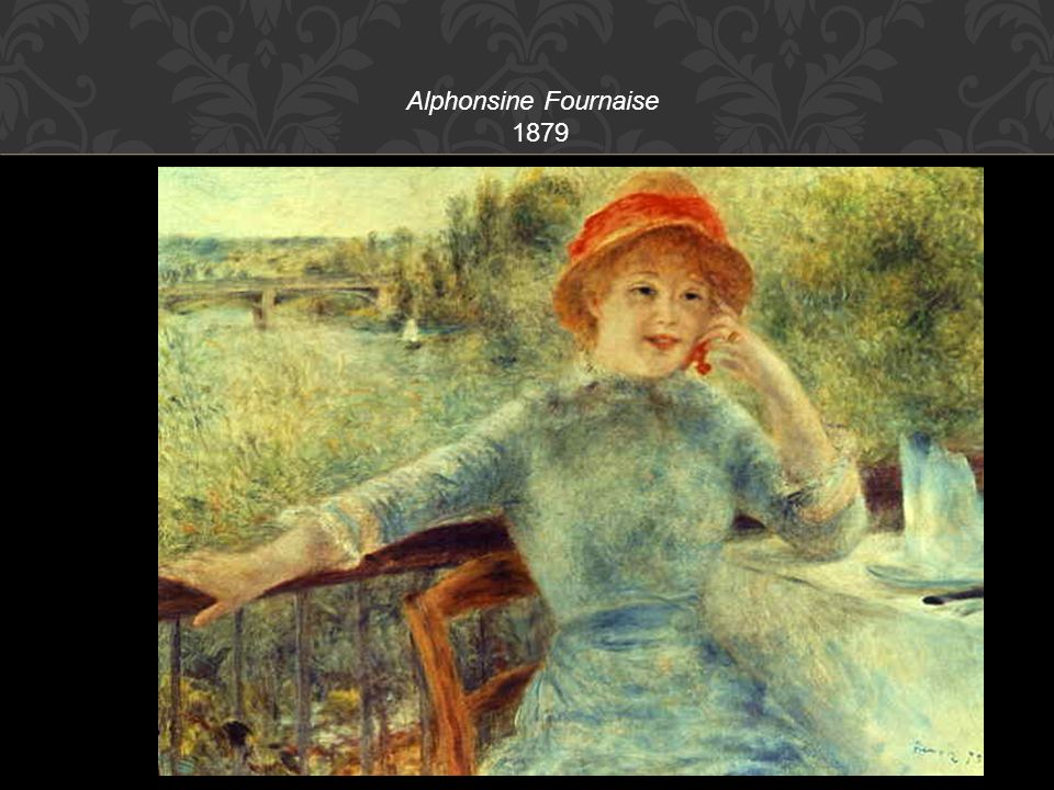 Alphonsine Fournaise 1879