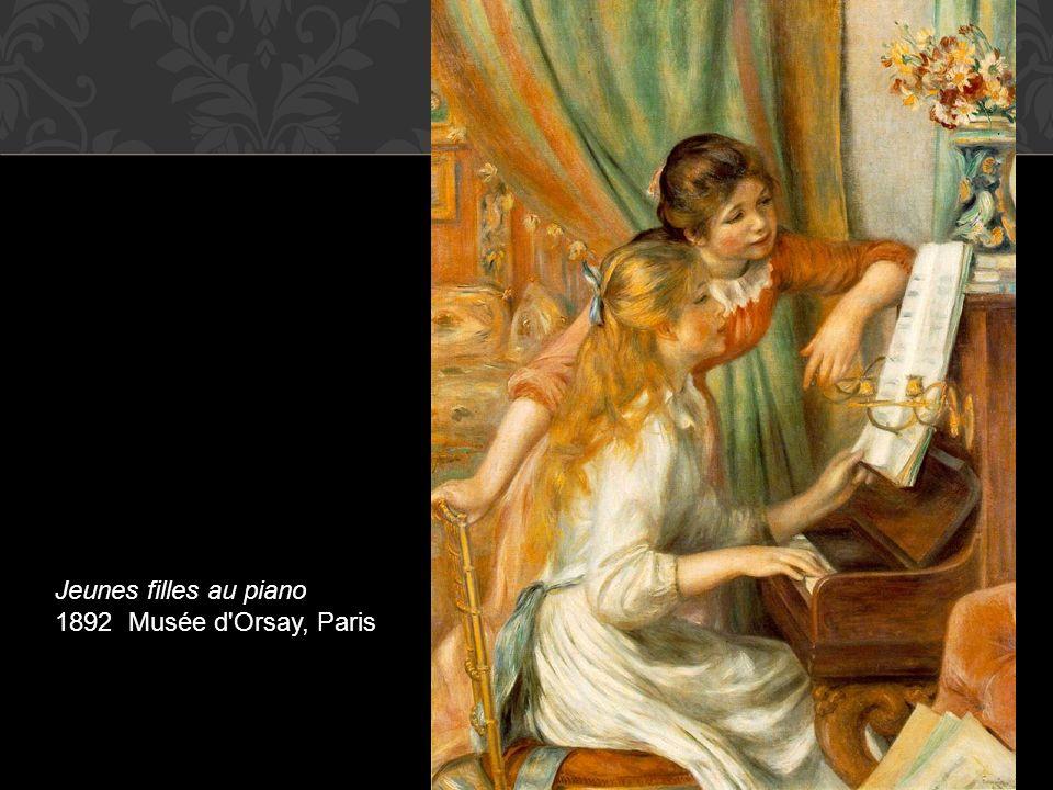 Jeunes filles au piano 1892 Musée d'Orsay, Paris