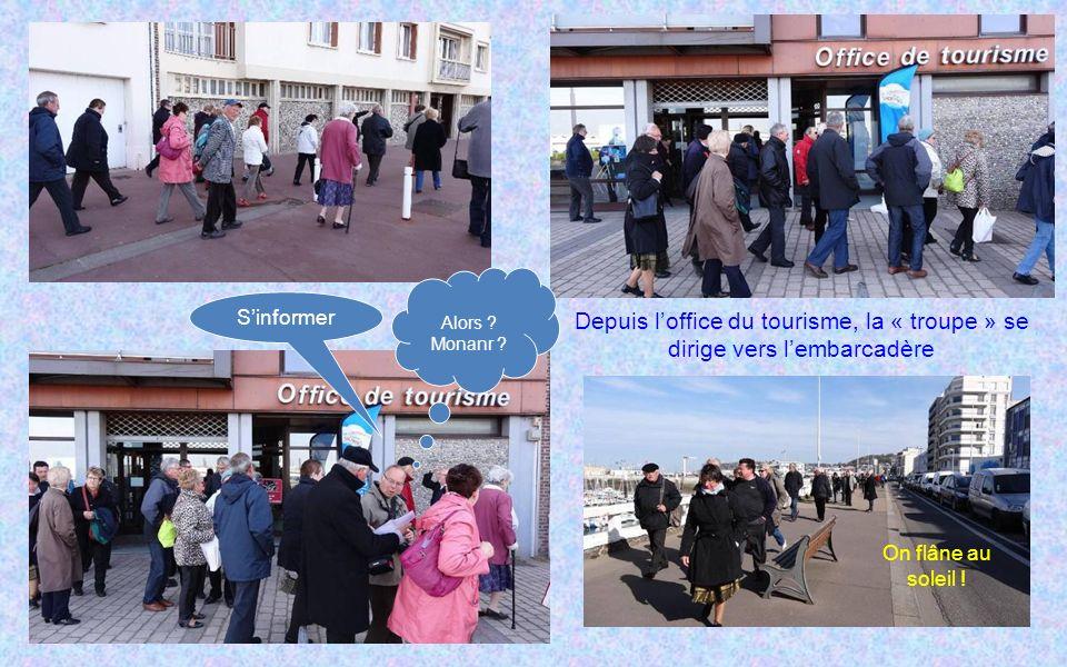 Rencontres Normandes le mardi 30 AVRIL 2013 LE HAVRE Le groupe ANR 76 a confié à Fran ç oise et Claude PETIT lorganisation de la sortie r é gionale du
