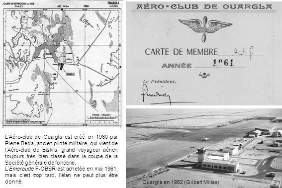 Ouenza Aéro-club dOuenza LAéro-club dOuenza est créé par le personnel de la Société dexploitation de la mine de fer qui se trouve près de la frontière tunisienne, entre Souk-Ahras et Tébessa.