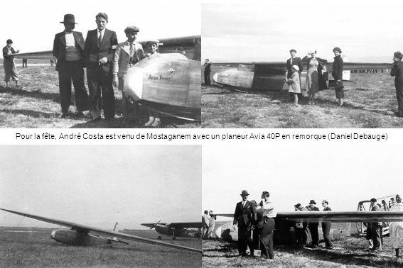 Le Caudron 510 Pélican de lAéro-club de Mascara de passage à Perrégaux en 1938 (Daniel Debauge)