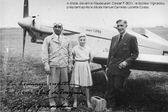 Tous les avions, dont le Simoun du docteur Lamur, ayant été détruits dans lincendie du hangar, le club achète le Jodel 112 F-OAZP en mars 1957 et le Jodel 119 F-PHZQ.