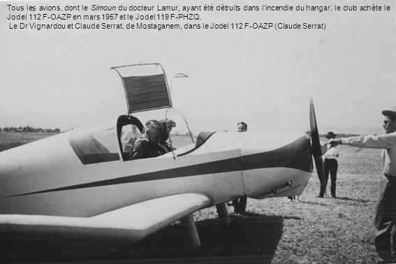 PHILIPPEVILLE LAéro-club de Philippeville est crée le 8 avril 1933 sous limpulsion du sénateur-maire Paul Cuttoli, présidé par Michel Trouilleur (pilote de guerre) entouré dun noyau dancien pilotes militaires.