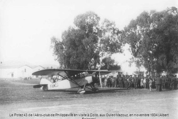 Le hangar « Système Estiot » de lAéro-club de Philippeville (Henri Bernet)