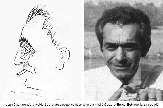 Le chef-pilote Pierre Crémieu, dit Popeye, ancien pilote de chasse, une personnalité remarquable de laviation en Algérie qui restera à lAéro-club de Philippeville de 1948 à 1962.