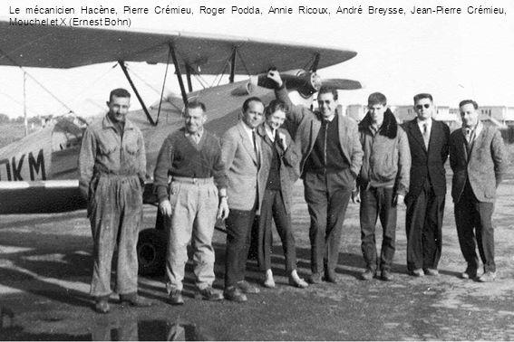 Le drame du 5 mars 1960 – Un T-6 de lEALA 3/9, au roulage sur alerte, accroche le Jodel 120 F-OBEN, lélève- pilote Ribeyrolles est tué et Pierre Crémieu est miraculeusement indemne (Christian Bouvart)