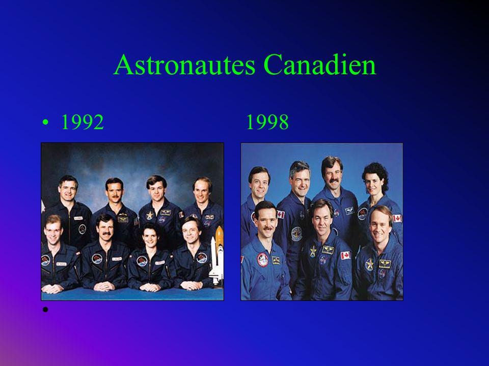 Conquête spatial Canadienne