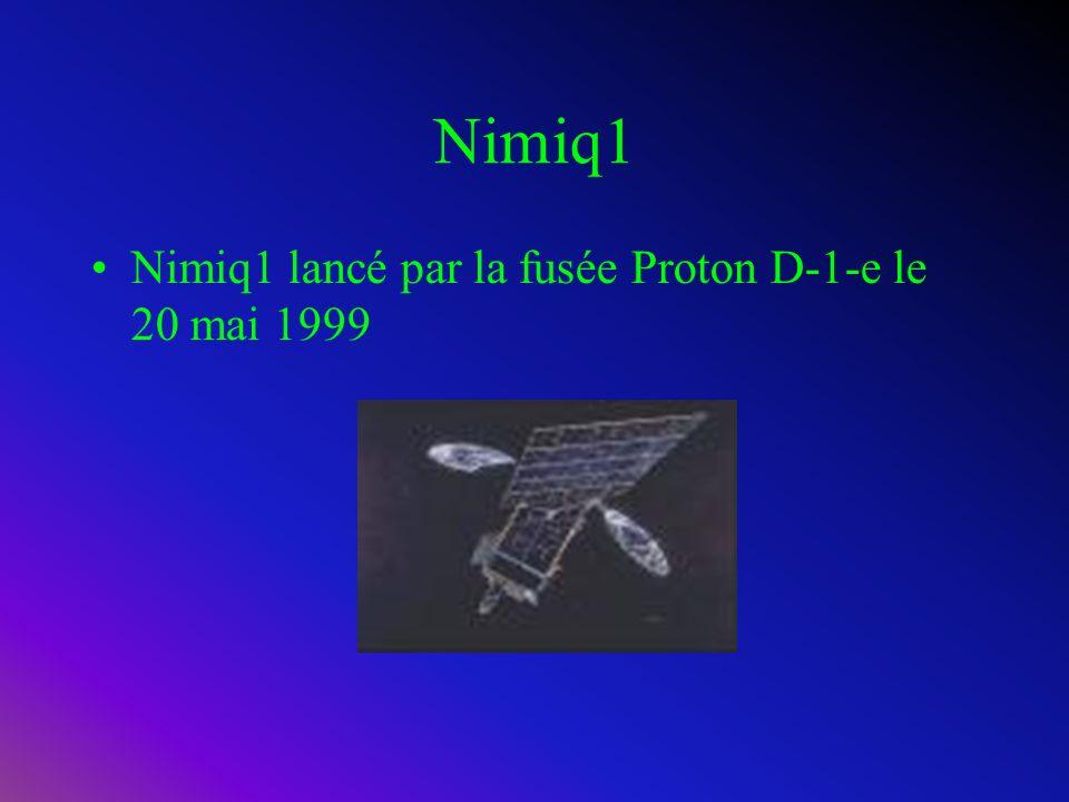 Anik E2 Anik E2 lancé par la f usée Ariane 4 le 4 avril 1991
