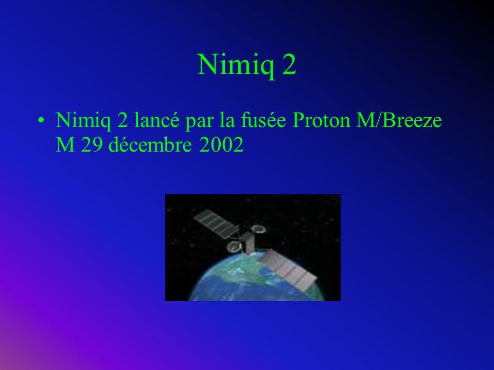 Nimiq1 Nimiq1 lancé par la fusée Proton D-1-e le 20 mai 1999